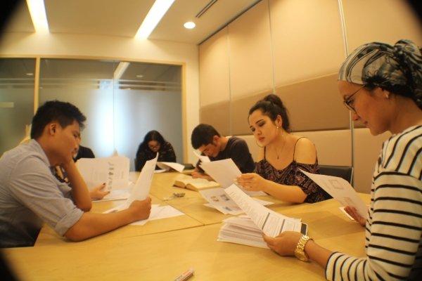طلاب معهد california kl في ماليزيا