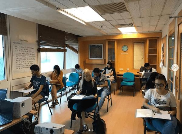 الفصول الدراسية في معهد ستراتفورد في ماليزيا