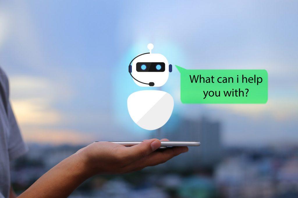 دردشة مع الروبوت الذكاء الاصطناعي